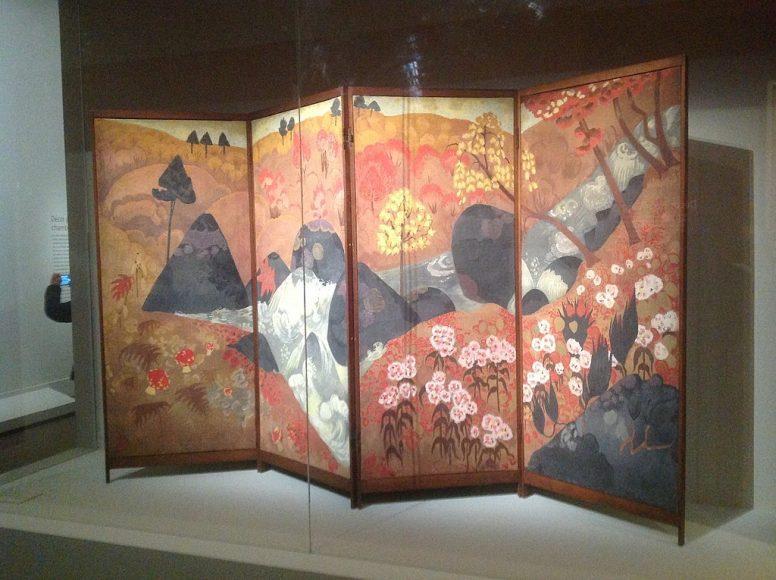 Orientalny Parawan Pokojowy z Japońskim Chińskim Motywem