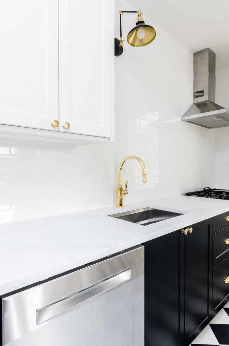 Funkcjonalny podział przestrzeni w kuchni